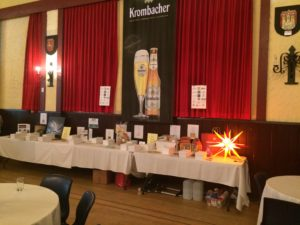 Raffle Prizes Table