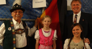 Flag Holders for Germany 2014