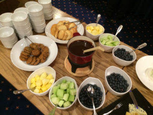 Fresh Fruit Chocolate Fondue
