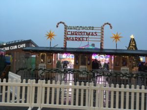 Christmas Market in the rain