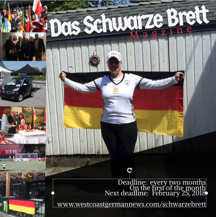 Elke with German flag