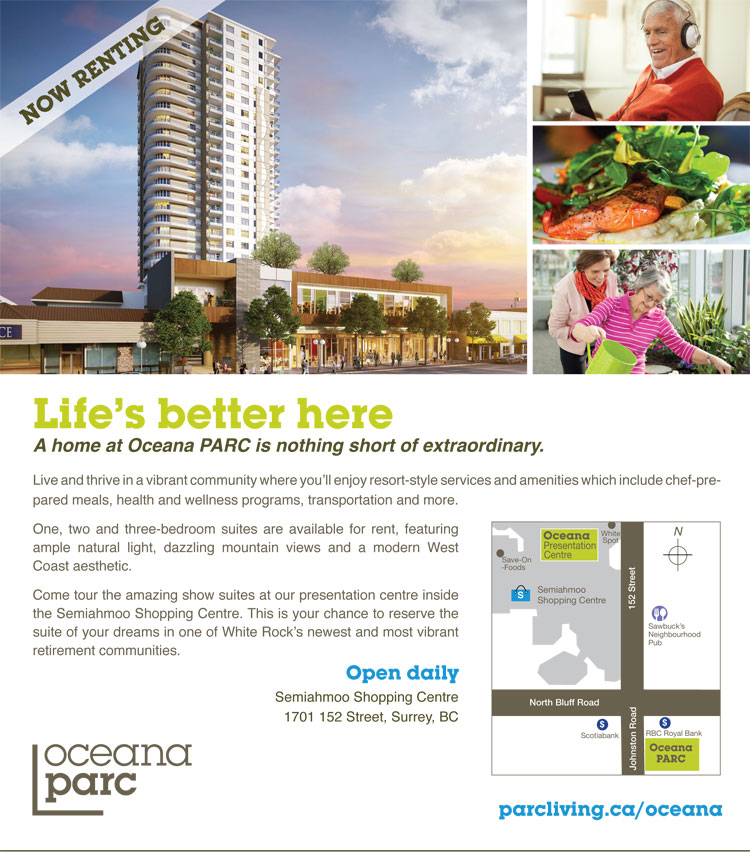 Oceana Ad for Parc Living